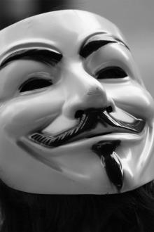 """Foto: """"V for Vendetta"""" - William Droops"""